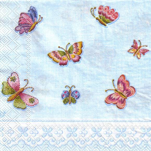 10508 Bunte Schmetterlinge (Petit Point Papillon)