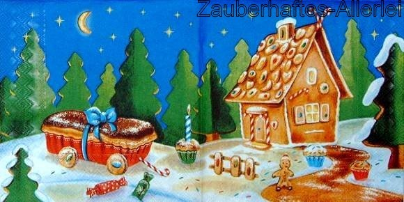 11663 Gingerbread House - Lebkuchenhaus