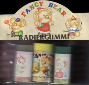 65009 Radiergummi Fancy Bear