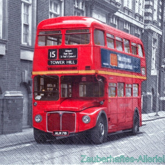 10475 Red Bus - Doppeldeckerbus London