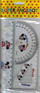 65012 Lineal-Set Mickey Mouse